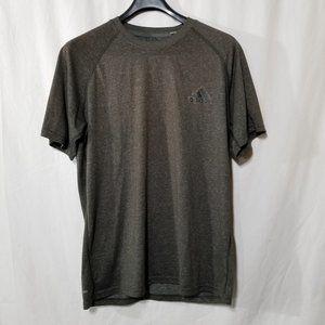 Adidas Climalite brown athletic t-shirt